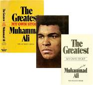 """1479: MUHAMMAD ALI SIGNED FIRST PRINTING """"THE GREATEST"""""""