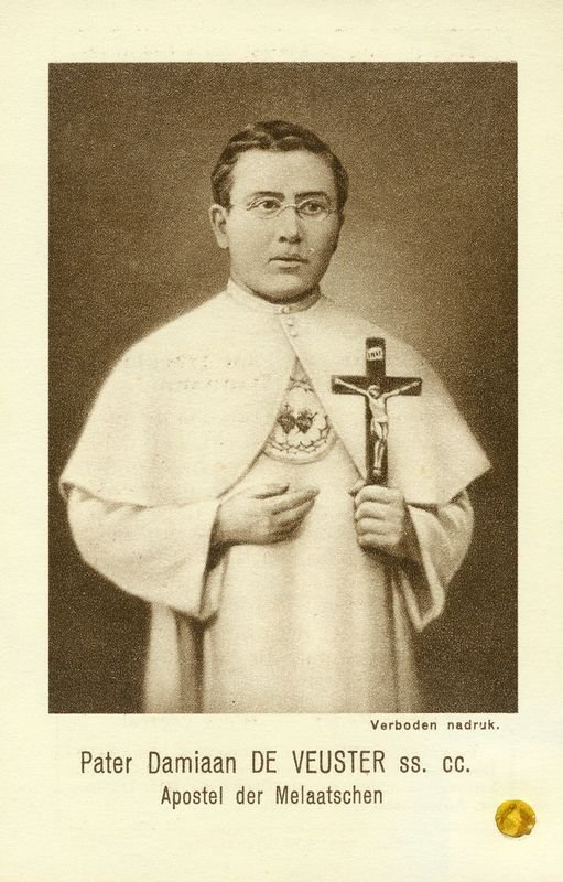 0017: BLESSED DAMIEN OF MOLOKAI [PATER DAMIAAN] IMAGE