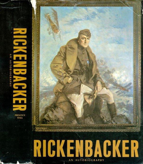 0209: EDDIE RICKENBACKER SIGNED BOOK: AUTOBIOGRAPHY - 3