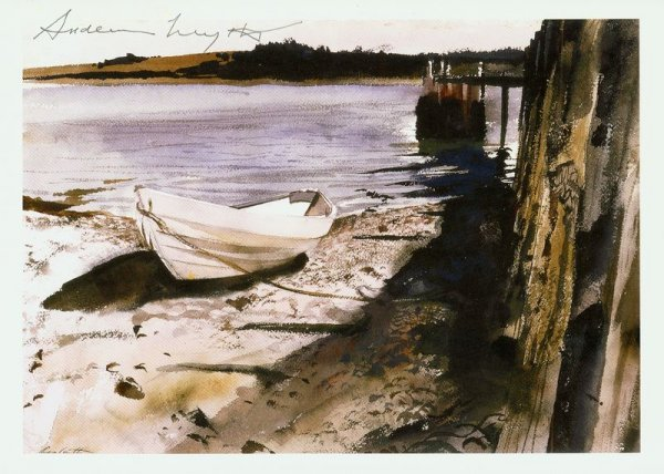 0612: ANDREW WYETH SIGNED PRINT