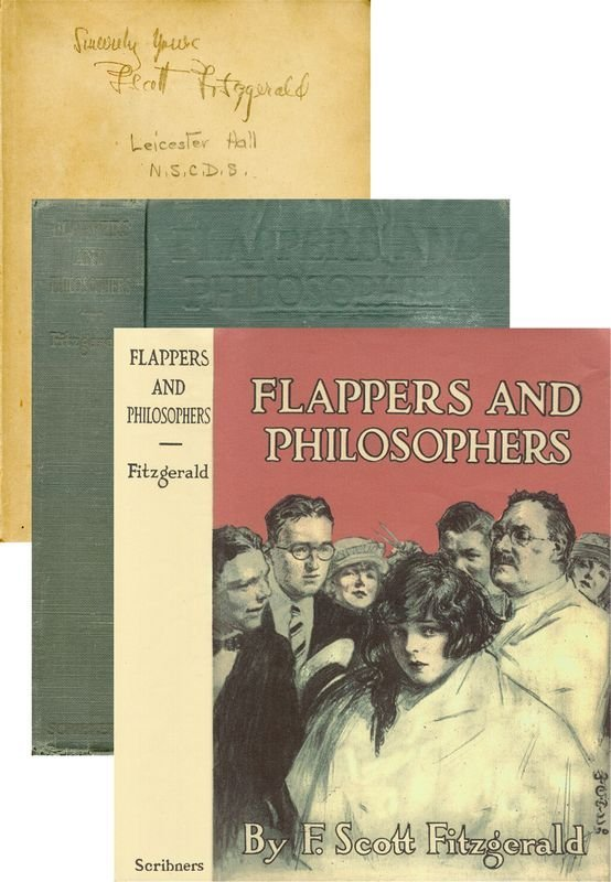 0643: F SCOTT FITZGERALD SIGNED FLAPPERS & PHILOSOPHERS