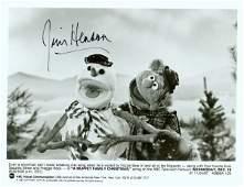 821 JIM HENSON SIGNED MUPPET PHOTOGRAPH