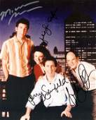 888 SEINFELD CAST MEMBERS SIGNED COLOR PHOTO
