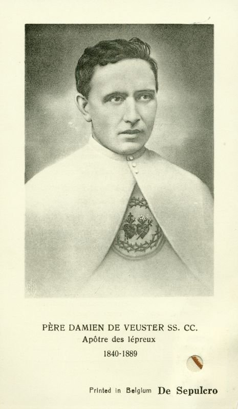 0013: BLESSED DAMIEN OF MOLOKAI IMAGE