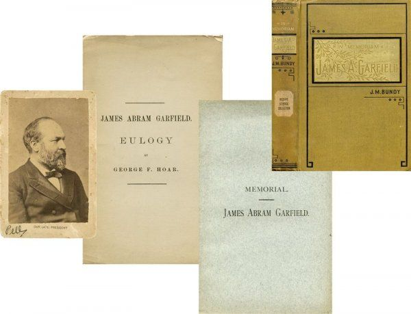 JAMES GARFIELD MEMORIAL BIOGRAPHY COLLECTION