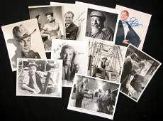 0958 11 SIGNED PHOTOGRAPHS IN ENTERTAINERS COLLECTION