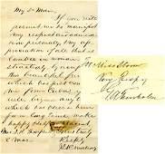 0114 GEORGE TRENHOLM STEPHEN MALLORY SIGNATURES
