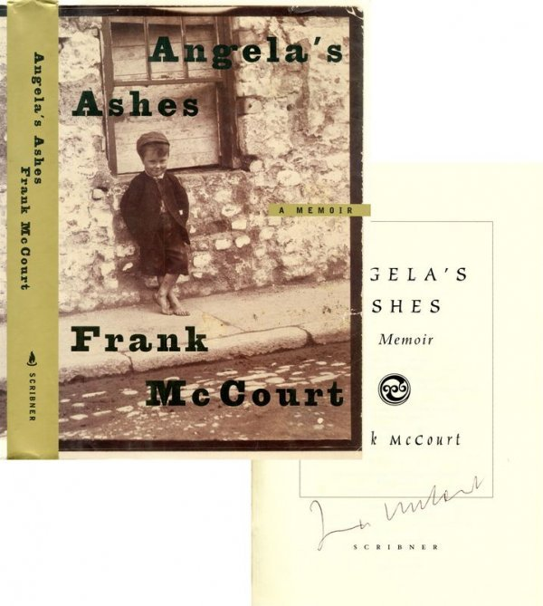 0791: FRANK MCCOURT SIGNED FIRST EDITION ANGELA'S ASHES