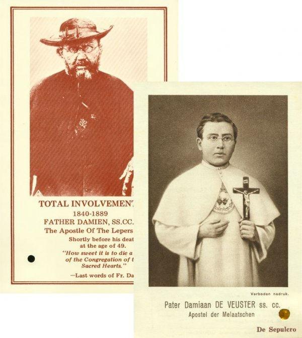0021: FATHER DAMIEN OF MOLOKAI RELICS