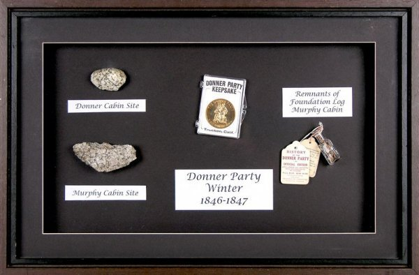 0072: ORIGINAL DONNER PARTY RELICS