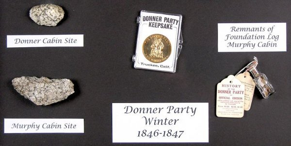 0072: ORIGINAL DONNER PARTY RELICS - 2