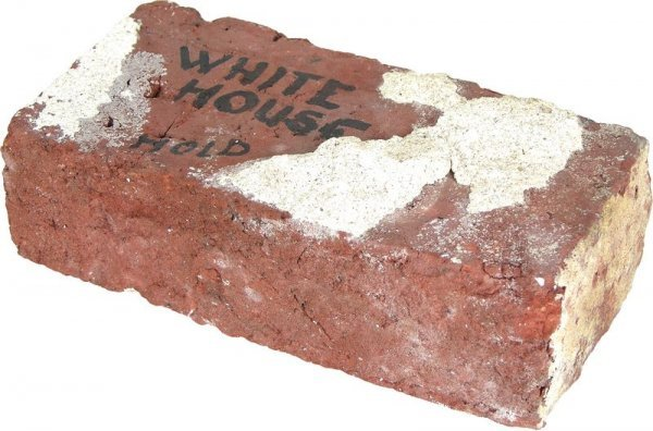 0085: WHITE HOUSE BRICK FROM 1948-52 RENOVATION