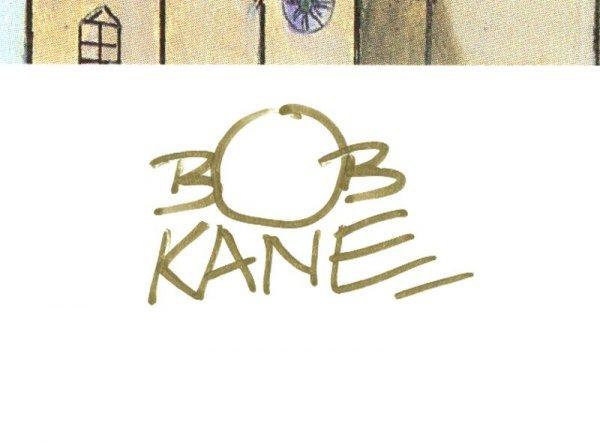 0555: BOB KANE SIGNED LTD EDITION BATMAN RETURNS PRINTS - 2