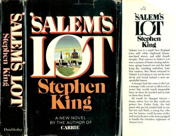 0594: KING: SALEM'S LOT FIRST EDITION FIRST PRINTING