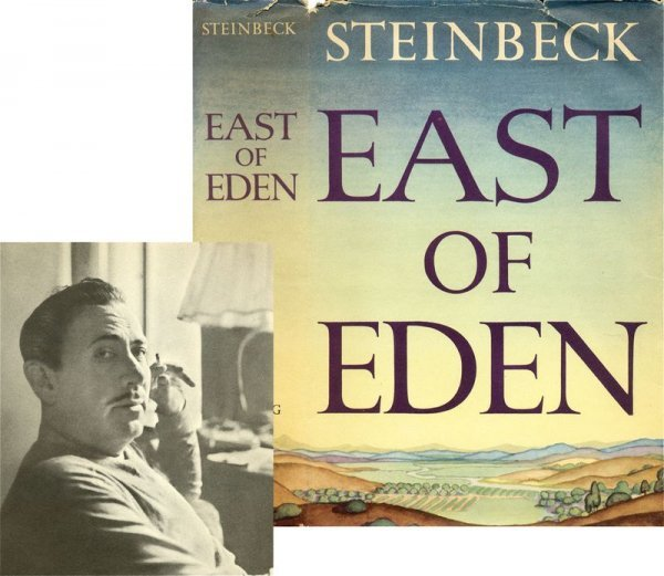 0615: EAST OF EDEN FIRST EDITION FIRST PRINTING