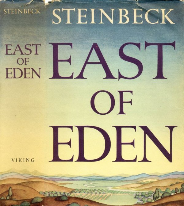 0615: EAST OF EDEN FIRST EDITION FIRST PRINTING - 2