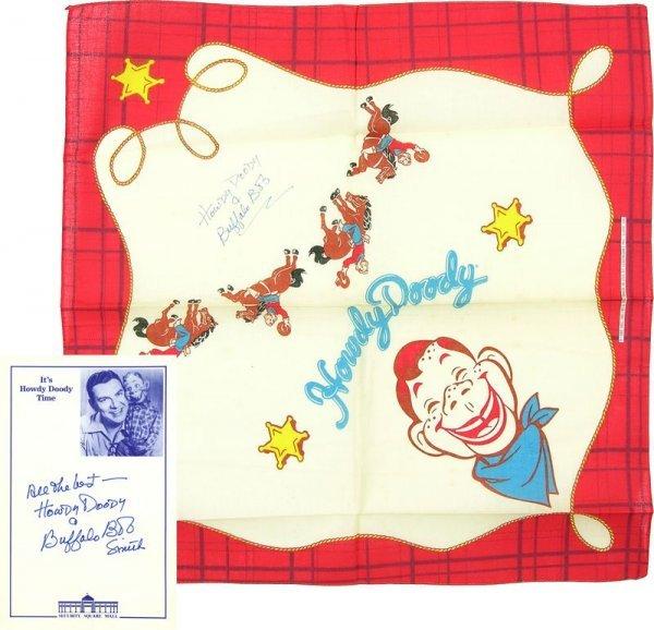 0785: HOWDY DOODY & BUFFALO BOB SMITH SIGNED COLLECTION