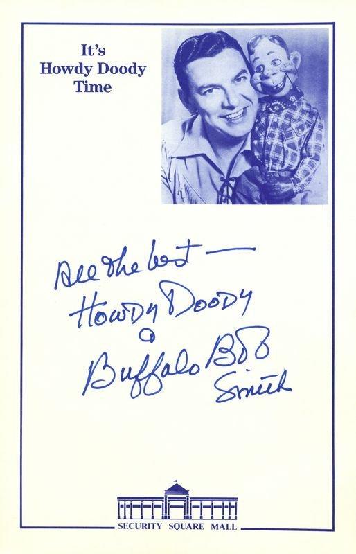 0785: HOWDY DOODY & BUFFALO BOB SMITH SIGNED COLLECTION - 2