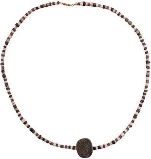 BABYLONIAN NECKLACE WITH SUMARIAN SEAL