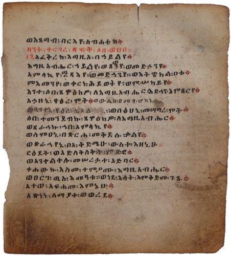 3: COPTIC BIBLE LEAVES