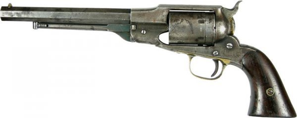 92: REMINGTON PISTOL OWNED BY GENERAL GEORGE CUSTER