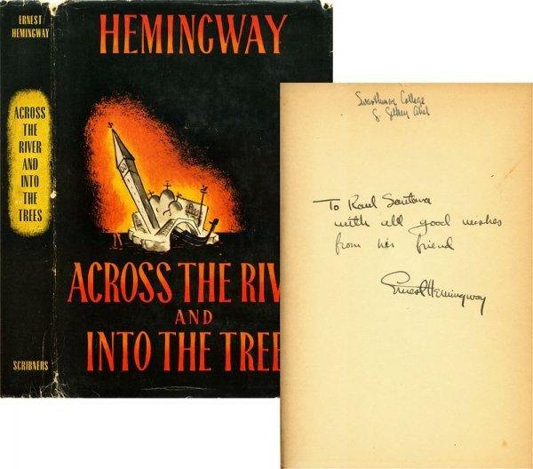 768: ERNEST HEMINGWAY SIGNED FIRST PRINTING BOOK