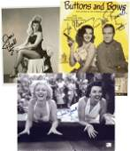 1030 JANE RUSSELL SIGNED PHOTOS  VINTAGE SHEET MUSIC