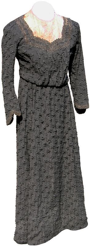 0485: MRS. FRANCIS BLAIR'S DRESS AT LINCOLN'S FUNERAL