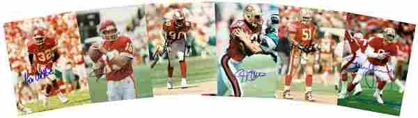 0918: 49ERS SIGNED PHOTOGRAPHS MONTANA RICE YOUNG