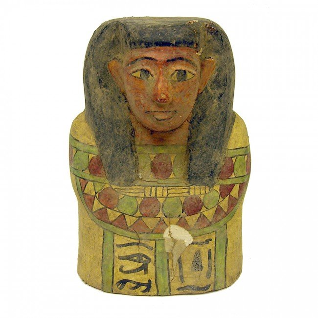 1: [EGYPTIAN MUMMY MASK]