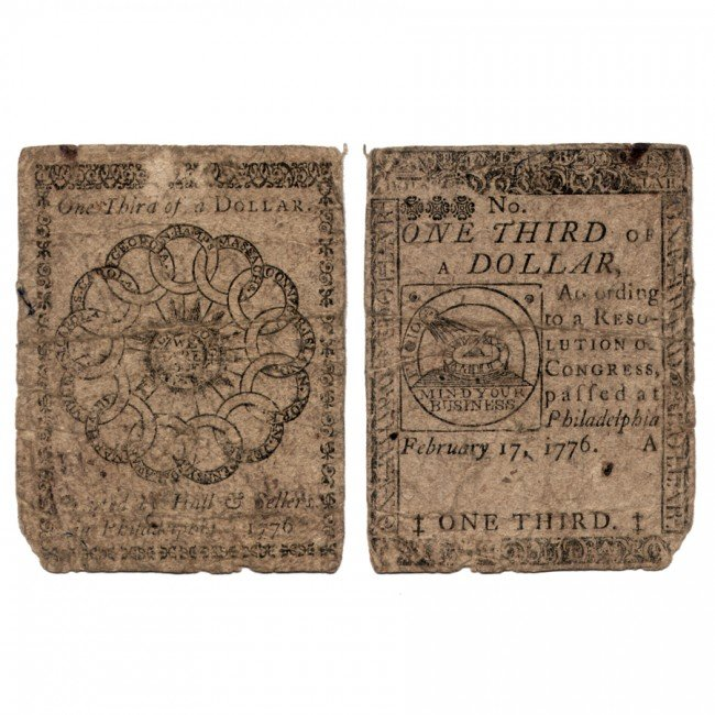 47: [COLONIAL FRACTIONAL CURRENCY]