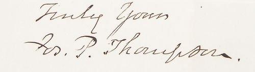 9: JOSEPH P. THOMPSON