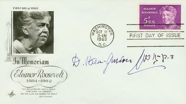 0016: DAVID BEN-GURION SIGNED FIRST DAY COVER
