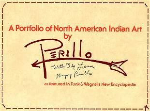 GREGORY PERILLO SIGNED PORTFOLIO COVER