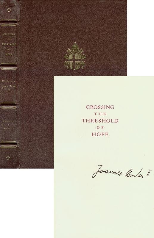 0011: SCARCE POPE JOHN PAUL II SIGNED BOOK