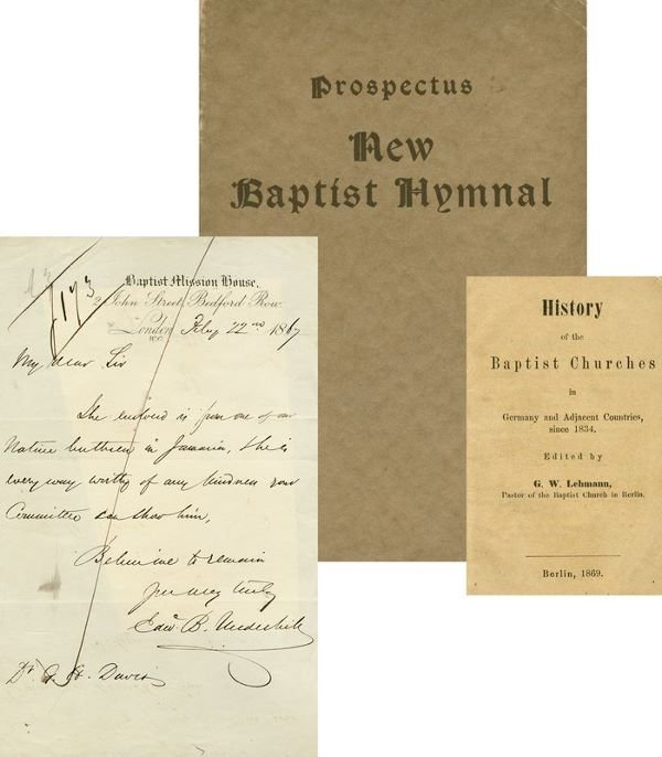 0013: BAPTIST HISTORICAL COLLECTIBLES