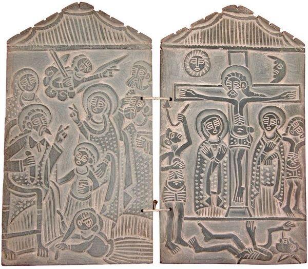 0021: ETHIOPIAN ORTHODOX DIPTYCH