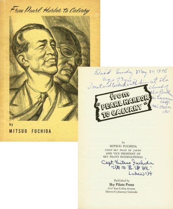 0022: CAPTAIN MITSUO FUCHIDA SIGNED BOOK
