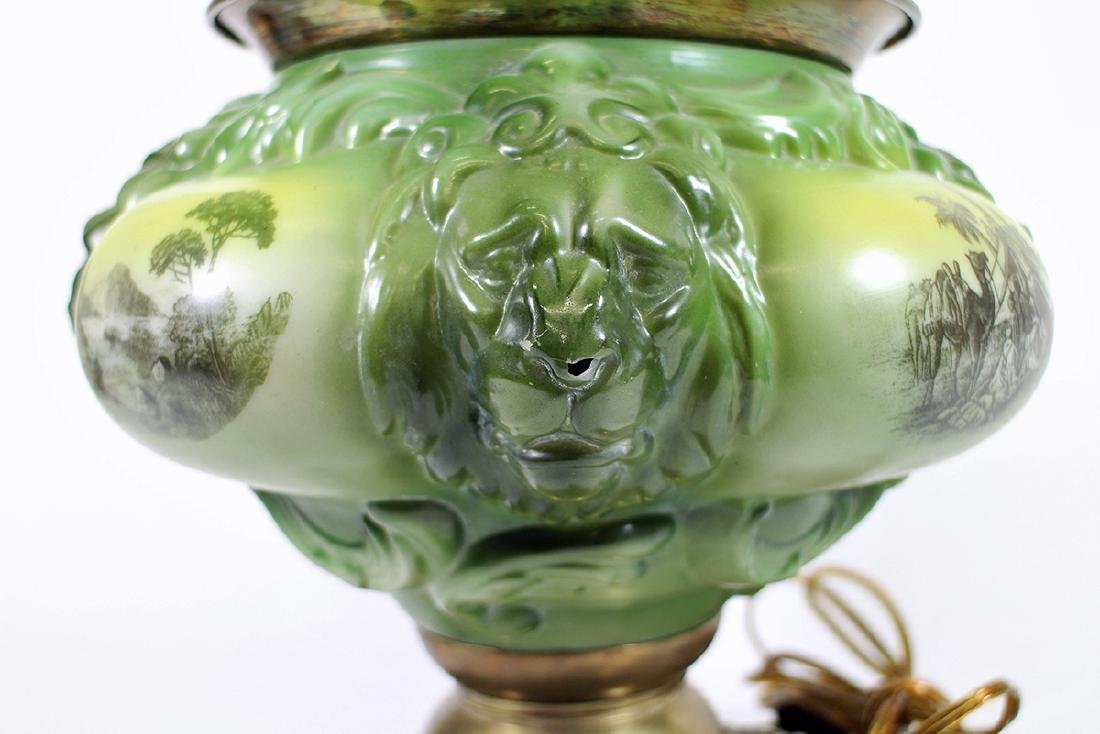 VICTORIAN GONE WITH THE WIND LAMP - 5