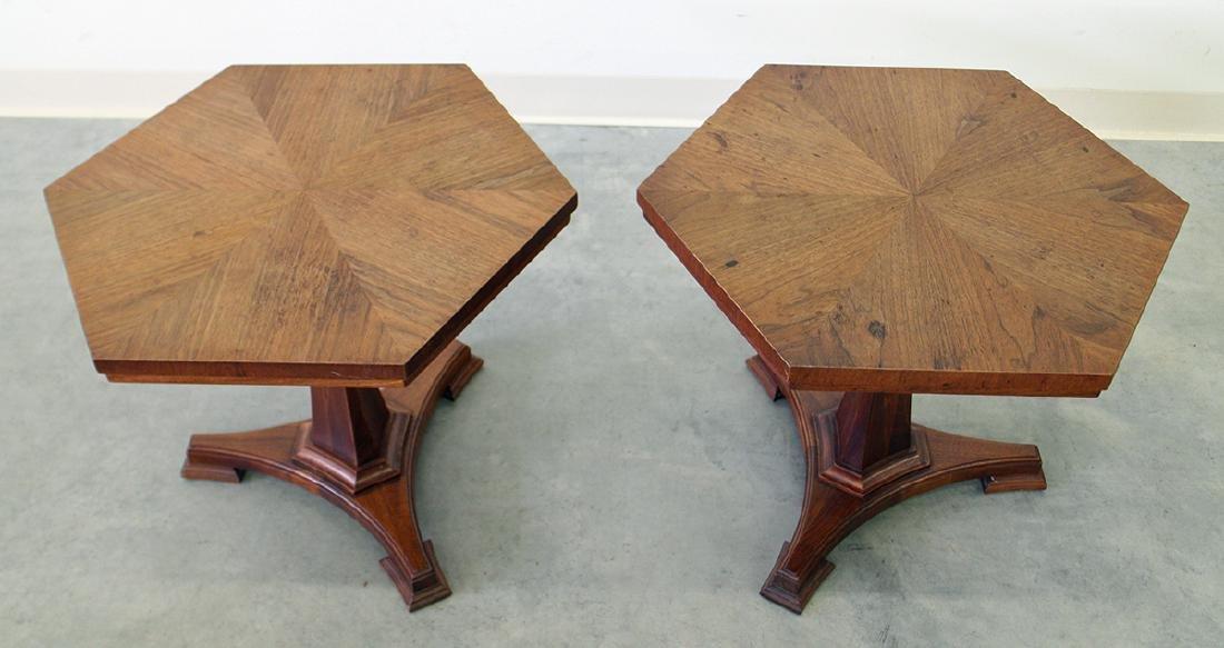 (2) JOHN STUART MID CENTURY END TABLES - 2