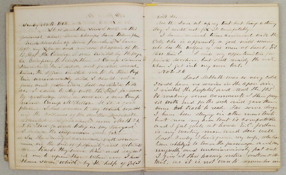 CIVIL WAR DIARY OF CHAPLAIN HENRY WHEELER - 3
