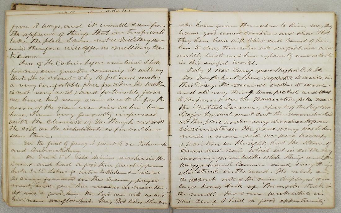 CIVIL WAR DIARY OF CHAPLAIN HENRY WHEELER - 6