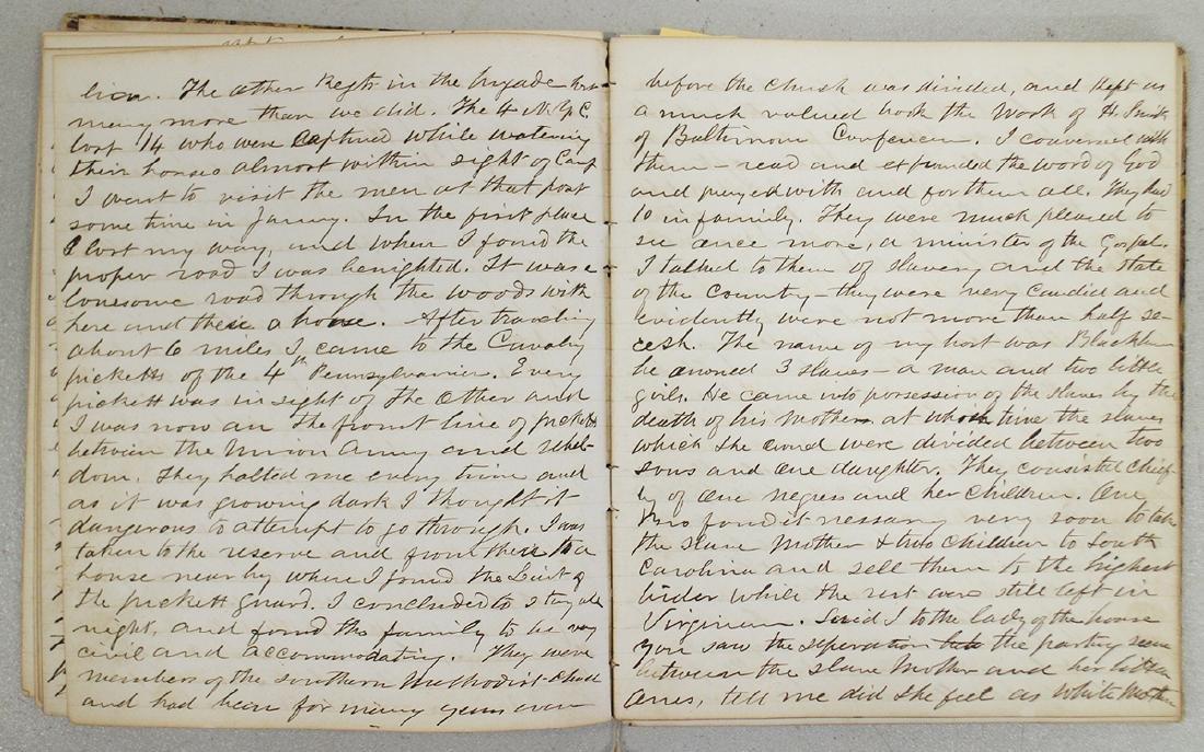 CIVIL WAR DIARY OF CHAPLAIN HENRY WHEELER - 8
