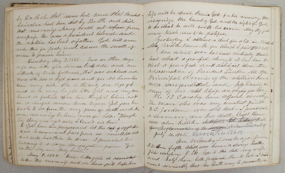 CIVIL WAR DIARY OF CHAPLAIN HENRY WHEELER - 9