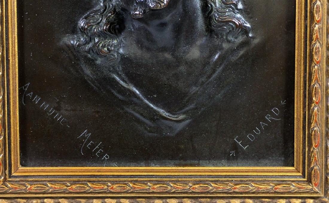 CHRIST HIGH RELIEF PLAQUE - SIGNED EDUARD - 3