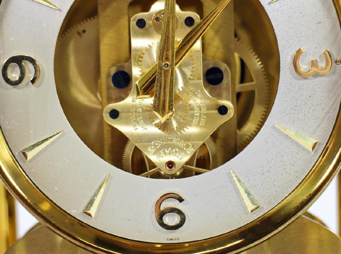 1950's LE COULTRE ATMOS CLOCK - 4