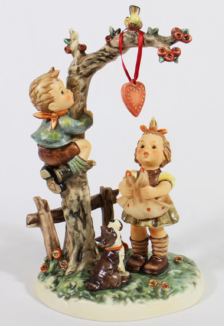 HUMMEL HERE'S MY HEART FIGURINE W/ BOX