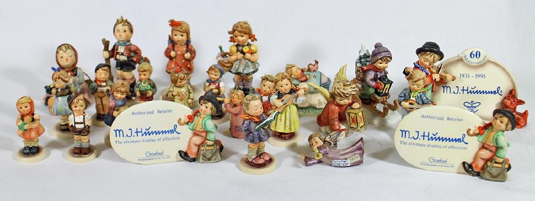 (24) HUMMEL FIGURINES