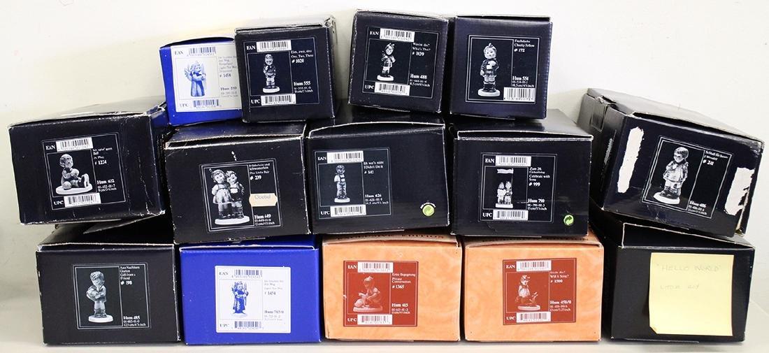 (14) GOEBEL HUMMEL FIGURINES W/ BOXES