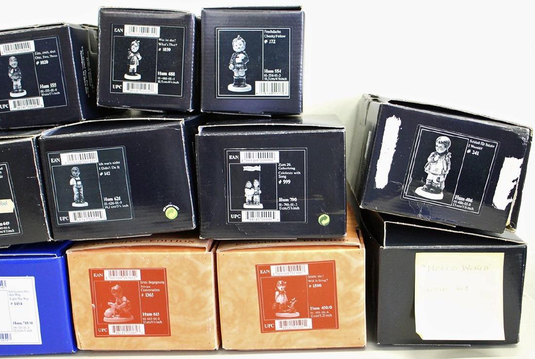 (14) GOEBEL HUMMEL FIGURINES W/ BOXES - 3